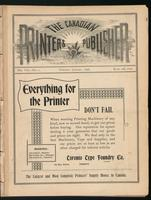 Canadian Printer & Publisher Vol. 7, No. 1