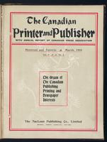 Canadian Printer & Publisher Vol. 10, No. 3