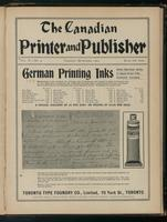 Canadian Printer & Publisher Vol. 10, No. 9