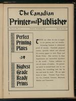 Canadian Printer & Publisher Vol. 10, No. 11