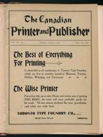 Canadian Printer & Publisher Vol. 11, No. 1