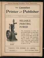 Canadian Printer & Publisher Vol. 11, No. 3