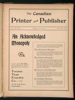 Canadian Printer & Publisher Vol. 11, No. 7