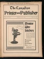 Canadian Printer & Publisher Vol. 11, No. 8