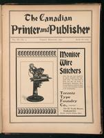 Canadian Printer & Publisher Vol. 11, No. 9