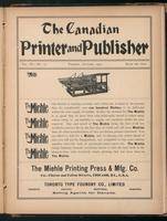Canadian Printer & Publisher Vol. 11, No. 10