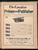 Canadian Printer & Publisher Vol. 11, No. 11