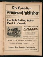 Canadian Printer & Publisher Vol. 11, No. 12