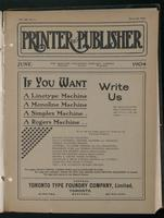 Canadian Printer & Publisher Vol. 13, No. 6