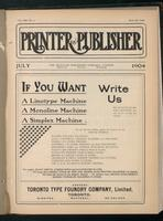 Canadian Printer & Publisher Vol. 13, No. 7