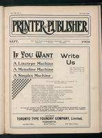 Canadian Printer & Publisher Vol. 13, No. 9