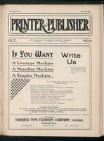Canadian Printer & Publisher Vol. 13, No. 10
