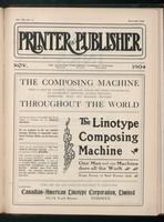 Canadian Printer & Publisher Vol. 13, No. 11