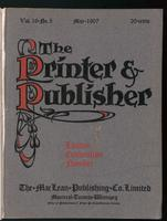 Canadian Printer & Publisher Vol. 16, No. 5