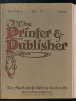 Canadian Printer & Publisher Vol. 16, No. 6