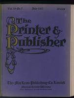 Canadian Printer & Publisher Vol. 16, No. 7
