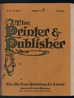 Canadian Printer & Publisher Vol. 16, No. 8