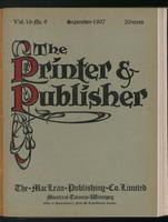 Canadian Printer & Publisher Vol. 16, No. 9