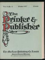 Canadian Printer & Publisher Vol. 16, No. 10