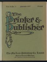 Canadian Printer & Publisher Vol. 16, No. 11