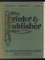 Canadian Printer & Publisher Vol. 16, No. 12