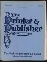 Canadian Printer & Publisher Vol. 17, No. 7