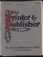 Canadian Printer & Publisher Vol. 17, No. 8