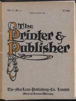 Canadian Printer & Publisher Vol. 17, No. 11