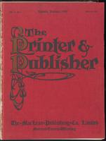 Canadian Printer & Publisher Vol. 18, No. 1