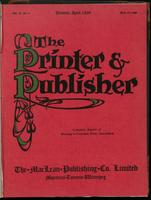Canadian Printer & Publisher Vol. 18, No. 4