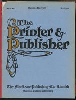 Canadian Printer & Publisher Vol. 18, No. 5