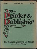 Canadian Printer & Publisher Vol. 18, No. 6