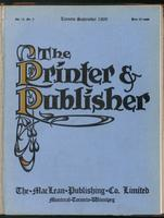 Canadian Printer & Publisher Vol. 18, No. 9