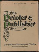 Canadian Printer & Publisher Vol. 18, No. 11