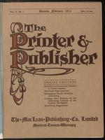 Canadian Printer & Publisher Vol. 19, No. 2