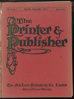 Canadian Printer & Publisher Vol. 19, No. 9