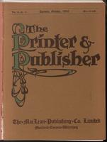 Canadian Printer & Publisher Vol. 19, No. 10