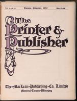 Canadian Printer & Publisher Vol. 19, No. 11