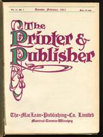 Canadian Printer & Publisher Vol. 20, No. 2
