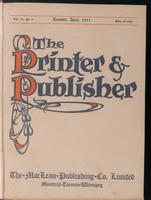 Canadian Printer & Publisher Vol. 20, No. 4