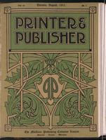 Canadian Printer & Publisher Vol. 20, No. 8