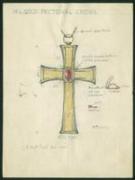 Grace Church on-the-hill Pectoral Cross sketch