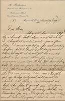 Boxed collection of Richardson family WWI letters