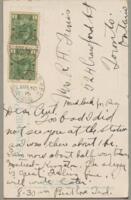 49.004 - Postcard to Mrs. Robert H. Ferris
