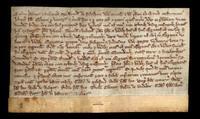 British land grant by Robert de Ffatesham to John FitzOsbert