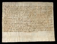 Deed involving John de Ralegh