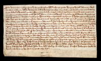 Sale of lands by Petrus and William le Norreys