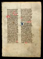 Three leaves from a French book of devotions