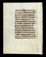 Leaf from a French book of devotions