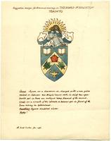 Suggested design for armorial bearings for the Toronto Board of Education